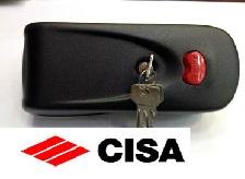 قفل برقی سیزا - قفل منشی - مقابل برقی